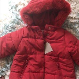 NET Zara puffer coat